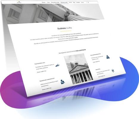 Tvorba web stránok - web stránka phinance.sk